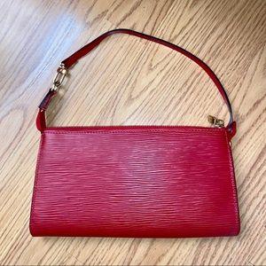 Vintage LOUIS VUITTON Epi Leather Pochette Bag